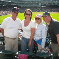 Fenway Park with Dick and Mooneen