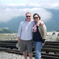 At the top of Mt. Washington